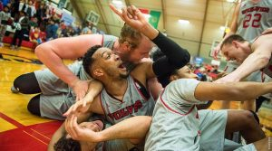WOU men's basketball
