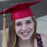 WOU grad Klarissa Gaskell in her cap and gown
