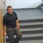Photo of Mark Girod in new building