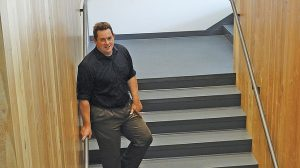 Photo of Mark Girod in new building