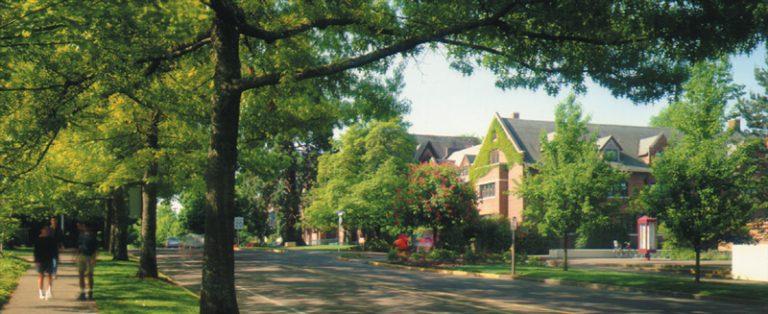 Photo of Western Oregon University campus