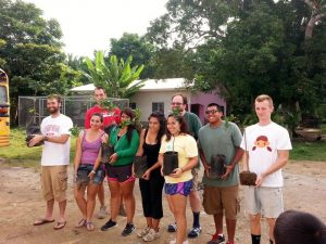 Honduras Service Learning team