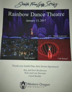 Rainbow Dance Theatre Program Cover