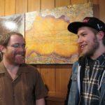 Greg Ewer and Tristan Bliss