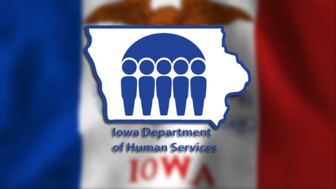 Logo for the Iowa Department of Human Services