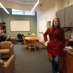 non-traditional student peer adviser Jami Collar