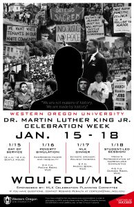 MLK Week schedule