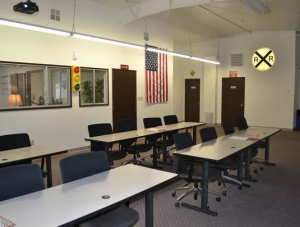 Photo of a room in the Washington Driver Education Center.
