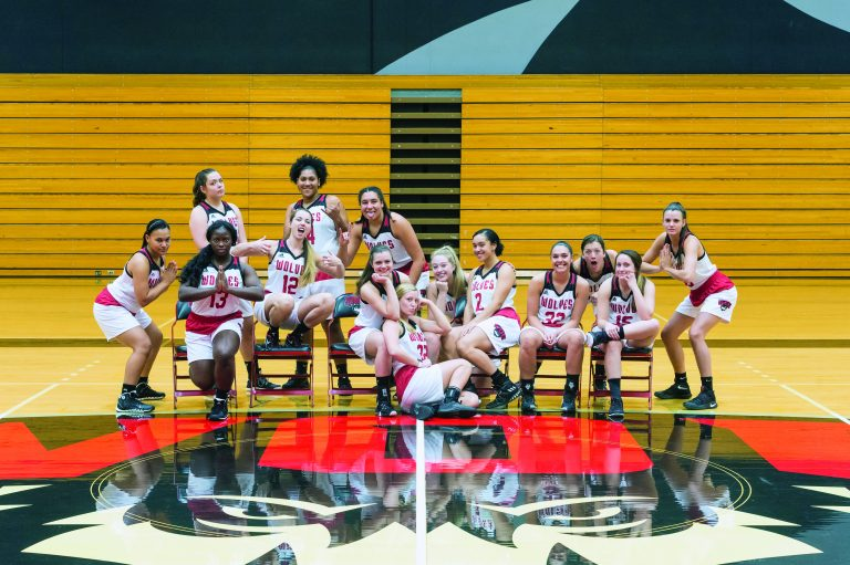 2017-18 WOU Women's Basketball Team