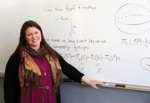 Leanne Merrill, assistant math professor