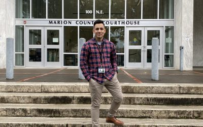 WOU Student Leo Marquez Interns at Marion County DA's Office