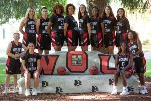 WOU women's basketball team