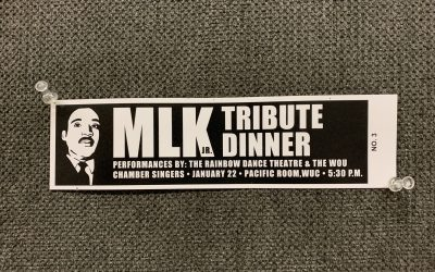 WOU Honors  the Work and Vision of Dr. Martin Luther King, Jr.