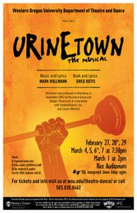 Poster of the musical Urinetown