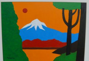 Painting of Mt. Hood