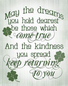 Words for an Irish quote