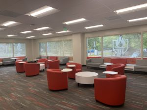 One of the spaces to study and socialize at WOU:Salem